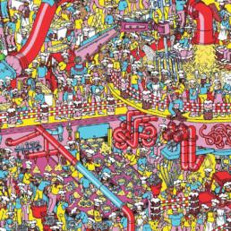 ¿Dónde está Wally? el juego de google maps
