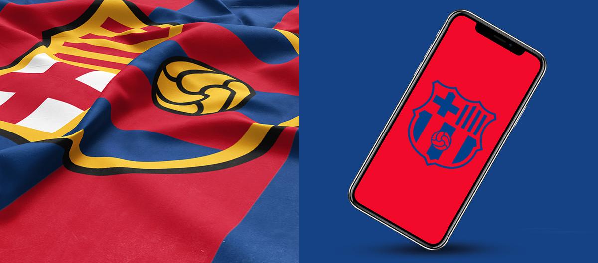 Nuevo escudo FC Barcelona